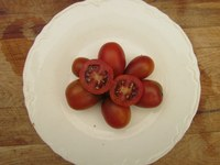 Brown Berry tomatoes